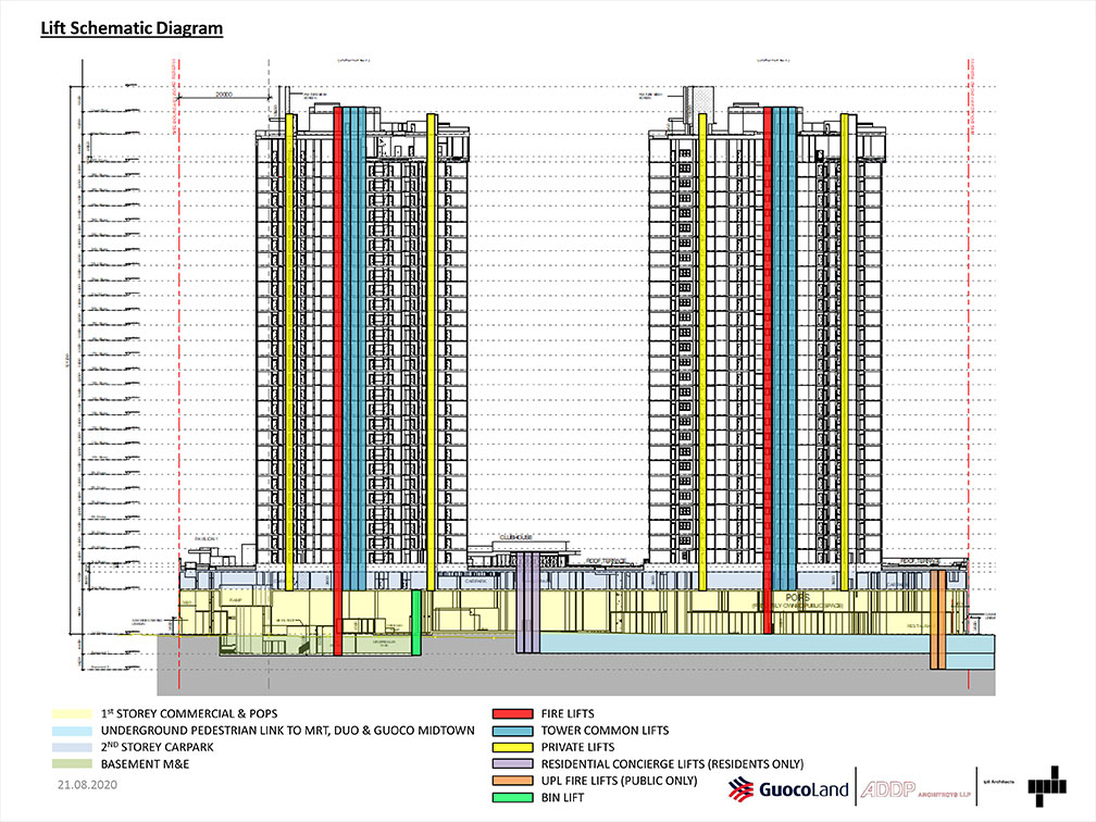 midtown-modern-Lift-schematic-singapore